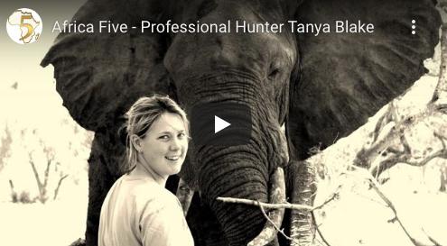 Africa Five – Professional Hunter Tanya Blake